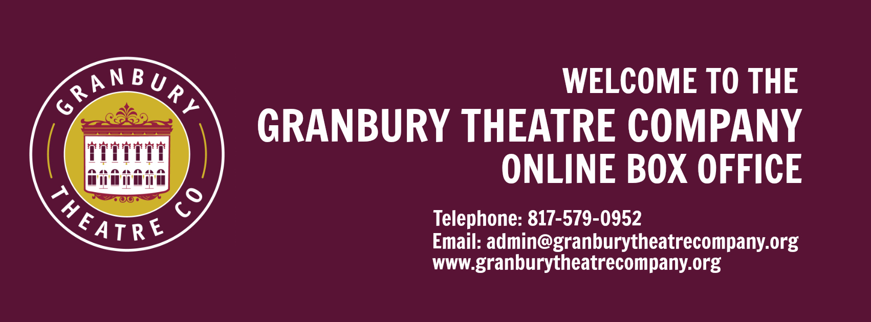 Granbury Theatre Company Box Office