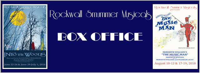 Rockwall Summer Musicals Box Office